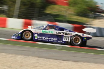 © Octane Photographic Ltd. 2011 Masters Racing Espiritu de Montjuic, April 8th 2011. Sportscar practice. Digital Ref : 0043CB7D0162
