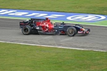 World © Octane Photographic Ltd. Italian GP, Monza, Formula 1 Practice 1. Friday 12th September 2008. Sebastien Bourdais, Scuderia Toro Rosso STR3. Digital Ref : 0842cb401d0003