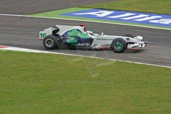 World © Octane Photographic Ltd. Italian GP, Monza, Formula 1 Practice 1. Friday 12th September 2008. Jenson Button, Honda Racing F1 Team RA108. Digital Ref : 0842cb401d0011