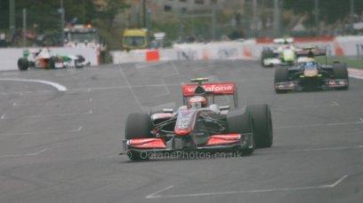 World © Octane Photographic. Belgian GP - Spa Francorchamps, Race, 30th August 2009. Heikki Kovalainen, McLaren MP4/24. Digital Ref :