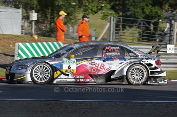 World © Octane Photographic Ltd. 2009. German Touring Cars (DTM) – Brands Hatch, UK. Martin Tomczyk - Abt Sportsline - Audi A4 DTM 2009. 5th September 2009. Digital Ref : 0054CB1D0119