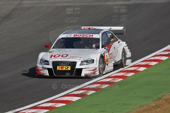 World © Octane Photographic Ltd. 2009. German Touring Cars (DTM) – Brands Hatch, UK. Tom Kristensen - Abt Sportsline - Audi A4 DTM 2009. 5th September 2009. Digital Ref : 0054CB1D0473
