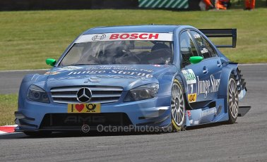 World © Octane Photographic Ltd. 2009. German Touring Cars (DTM) – Brands Hatch, UK. Jamie Green - Team Phoenix - AMG Mercedes C-Klass 2008. 5th September 2009. Digital Ref : 0054CB1D1068