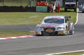 World © Octane Photographic Ltd. 2009. German Touring Cars (DTM) – Brands Hatch, UK. Martin Tomczyk - Abt Sportsline - Audi A4 DTM 2009. 5th September 2009. Digital Ref : 0054CB1D1096