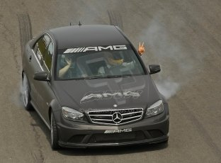 World © Octane Photographic Ltd. 2009. German Touring Cars (DTM) – Brands Hatch, UK. Lewis Hamilton demonstration laps. 6th September 2009. Digital Ref : 0054CB1D3207