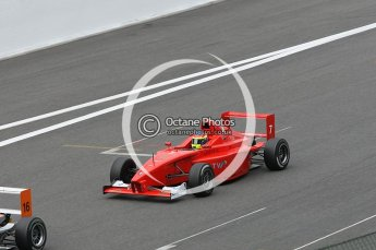 © Octane Photographic 2009. Formula BMW Euroseries - Spa . Doru Sechelariu - Eifelland Racing. 29th August 2009. Digital Ref : 0057CB1D9659