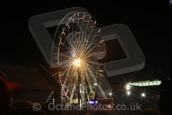 © Octane Photographic 2009. Le Mans 24hour 2009. Le Mans fairground Ferris wheel. Digital ref: LM09_009