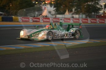 © Octane Photographic 2009. Le Mans 24hour 2009. Dunlop Hill at dawn.  Digital ref: LM09_010