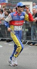 © Octane Photographic 2009. Le Mans 24hour 2009. Bruno Senna - Drivers' Parade. Digital ref: LM09_013