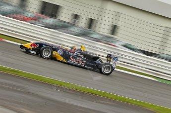 © Octane Photographic 2010. British F3 – Silverstone - Bridge circuit . Jean-Eric Vergne - Carlin. 14th August 2010. Digital Ref : 0051CB1D0542