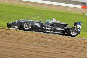 © Octane Photographic 2010. British F3 – Silverstone - Bridge circuit . William Buller - Hitech Racing. 14th August 2010. Digital Ref : 0051CB1D1530