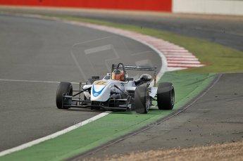 © Octane Photographic 2010. British F3 – Silverstone - Bridge circuit . Pietro Fantin - Hitech Racing. 15th August 2010. Digital Ref : 0051CB1D3459