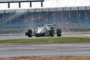 © Octane Photographic 2010. British F3 – Silverstone - Bridge circuit . Jazeman Jaafar - Carlin. 14th August 2010. Digital Ref : 0051CB7D0482