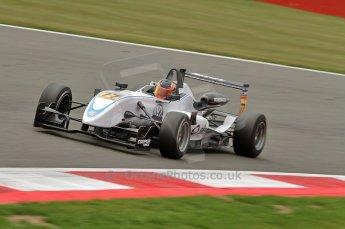 © Octane Photographic 2010. British F3 – Silverstone - Bridge circuit . Pietro Fantin - Hitech Racing. 15th August 2010. Digital Ref : 0051CB7D2440