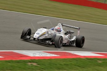 © Octane Photographic 2010. British F3 – Silverstone - Bridge circuit . Alex Brundle - T-Sport. 15th August 2010. Digital Ref : 0051CB7D2453