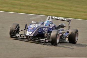 © Octane Photographic 2010. British F3 – Silverstone - Bridge circuit . Rupert Svendsen-Cook - Carlin. 15th August 2010. Digital Ref : 0051CB7D2543
