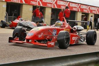 © Octane Photographic 2010. British F3 – Thruxton . James Cole - T-Sport. 7th August 2010. Digital Ref : CB1D8125