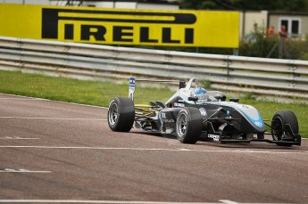 © Octane Photographic 2010. British F3 – Thruxton . Gabriel Dias - Hitech Racing. 7th August 2010. Digital Ref : CB1D8141
