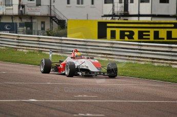 © Octane Photographic 2010. British F3 – Thruxton . Max Snegirev - Fortec Racing. 7th August 2010. Digital Ref : CB1D8158