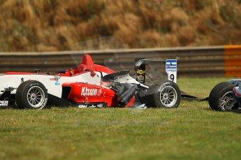 © Octane Photographic 2010. British F3 – Thruxton . Max Snegirev - Fortec Motorsport. 8th August 2010. Digital Ref :