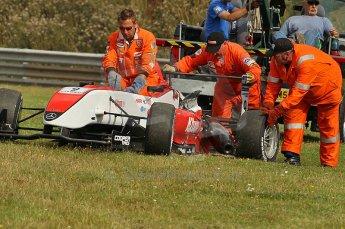 © Octane Photographic 2010. British F3 – Thruxton . Max Snegirev - Fortec Motorsport. 8th August 2010. Digital Ref : CB1D9573
