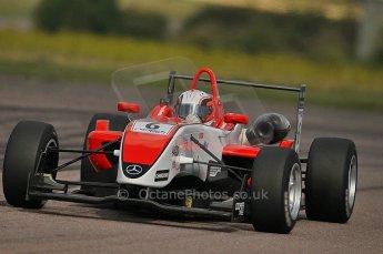 © Octane Photographic 2010. British F3 – Thruxton . Oliver Webb - Fortec Motorsport. 8th August 2010. Digital Ref : CB1D9642
