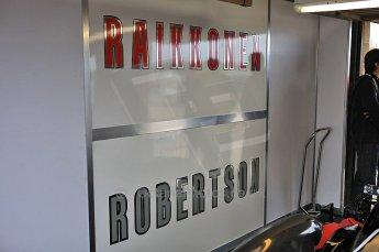 © Octane Photographic 2010. British F3 – Thruxton . Raikkonen Robertson Racing garage, 8th August 2010. Digital Ref : CB5D3851