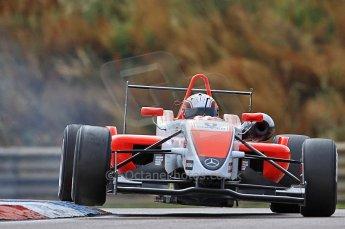 © Octane Photographic 2010. British F3 – Thruxton . Oliver Webb - Fortec Motorsport. 7th August 2010. Digital Ref : CB7D7358