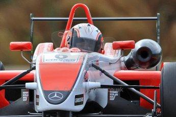 © Octane Photographic 2010. British F3 – Thruxton . Oliver Webb - Fortec Motorsport. 7th August 2010. Digital Ref : CB7D7389