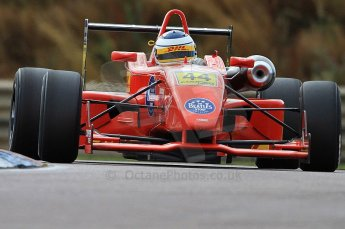© Octane Photographic 2010. British F3 – Thruxton . James Cole - T-Sport. 7th August 2010. Digital Ref : CB7D7393