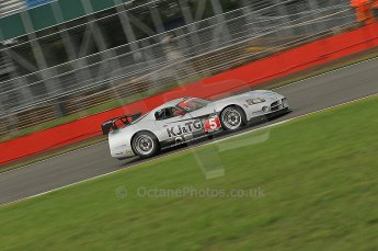 © Octane Photographic 2010. British GT Championship, Silvertstone, 14th August 2010. Digital ref : 0034cb1d0964