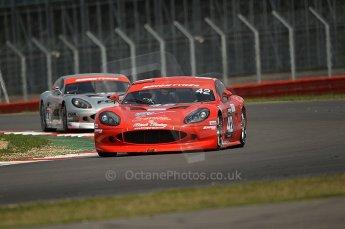 © Octane Photographic 2010. British GT Championship, Silvertstone, 15th August 2010. Digital ref : 0034cb1d2907