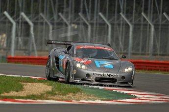 © Octane Photographic 2010. British GT Championship, Silvertstone, 15th August 2010. Digital ref : 0034cb1d3024