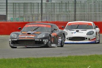 © Octane Photographic 2010. British GT Championship, Silvertstone, 15th August 2010. Digital ref : 0034cb1d3084
