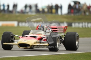 World © Octane Photographic 2010. 2010 Classic Lotus Festival, Snetterton. June 20th 2010. Lotus 49 - Mike Gascoyne. Digital Ref : 0028CB1D7665