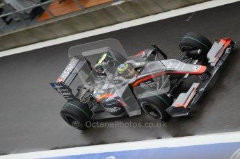 © Octane Photographic 2010. 2010 F1 Belgian Grand Prix, Friday August 27th 2010. Hispania F110 - Bruno Senna. Digital Ref : 0030CB1D0085