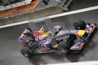 © Octane Photographic 2010. 2010 F1 Belgian Grand Prix, Friday August 27th 2010. Red Bull RB6 - Sebastian Vettel. Digital Ref : 0030CB1D0193