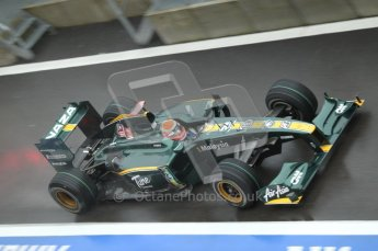 © Octane Photographic 2010. 2010 F1 Belgian Grand Prix, Friday August 27th 2010. Lotus T127 - Jarno Trulli. Digital Ref : 0030CB1D0616