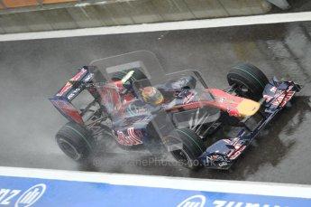 © Octane Photographic 2010. 2010 F1 Belgian Grand Prix, Friday August 27th 2010. Toro Rosso STR5 - Jamie Alguersuari. Digital Ref : 0030CB1D0636