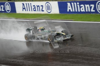 © Octane Photographic 2010. 2010 F1 Belgian Grand Prix, Friday August 27th 2010. Lotus T127 - Heikki Kovalainen. Digital Ref : 0030CB1D0662