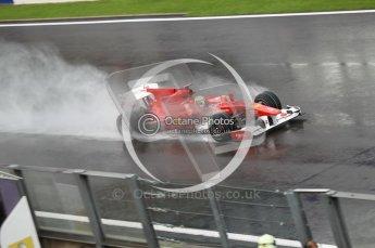 © Octane Photographic 2010. 2010 F1 Belgian Grand Prix, Friday August 27th 2010. Ferrari F10 - Felipe Massa. Digital Ref : 0030CB1D0697