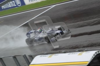 © Octane Photographic 2010. 2010 F1 Belgian Grand Prix, Friday August 27th 2010. Williams FW32 - Rubens Barichello. Digital Ref : 0030CB1D0749