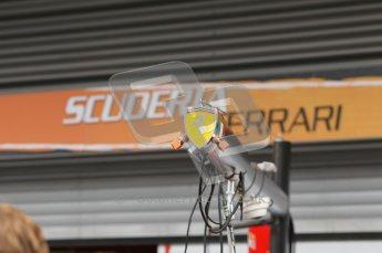 © Octane Photographic 2010. 2010 F1 Belgian Grand Prix, Friday August 27th 2010. Ferrari refuelling rig. Digital Ref : 0030CB1D1144