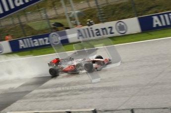 © Octane Photographic 2010. 2010 F1 Belgian Grand Prix, Friday August 27th 2010. Digital Ref : 0030CB1D1254