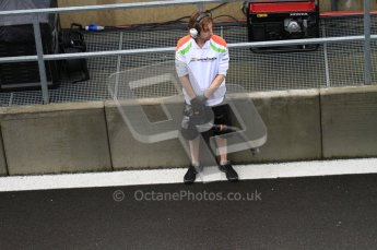 © Octane Photographic 2010. 2010 F1 Belgian Grand Prix, Friday August 27th 2010. Force India. Digital Ref : 0030LW7D0290