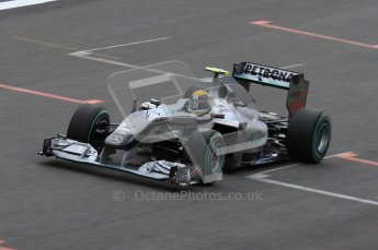 © Octane Photographic 2010. 2010 F1 Belgian Grand Prix, Saturday August 28th 2010. Digital Ref : 0030LW7D1948