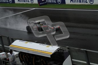 © Octane Photographic 2010. 2010 F1 Belgian Grand Prix, Friday August 27th 2010. Hispania F110 - Bruno Senna. Hispania F110. Digital Ref : 0030LW7D9817