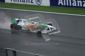© Octane Photographic 2010. 2010 F1 Belgian Grand Prix, Friday August 27th 2010. Force India VJM03 - Adrian Sutil. Digital Ref : 0030LW7D9880