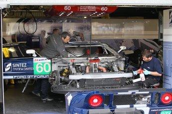 2010 Le Mans 24 Hour (24 Heures du Mans), 11th June 2010. Matech Competition - Ford GT garage. Digital ref : CB1D2001