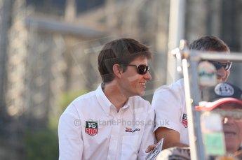 2010 Le Mans 24 Hour (24 Heures du Mans), 11th June 2010. Drivers' parade. Team Bruichladdich - Gary Chalandon. Digital ref : CB1D2818